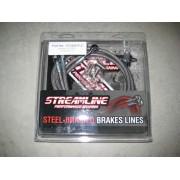"Streamline +2"" hydraulic front brake 3 line kit"