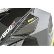 Carbon Fiber Air Filter Screen Deflector/Guard — XP Chassis