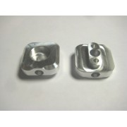 Procross/Proclimb billet rear axle track adjusters