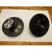 "Arctic Cat Snowmobile Low Snow Wheel Kit, 5.63"" (2) Wheels 6639-184 ZR, Fsleds"