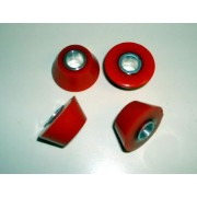 Isovibe SX Red Bushings (80 Duro Standard)