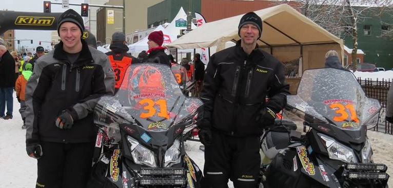 Grip N Rip Racing (Team #31) at the 2017 Iron Dog Race in Alaska