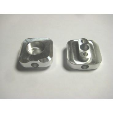 Procross/Proclimb billet rear axle track adjusters